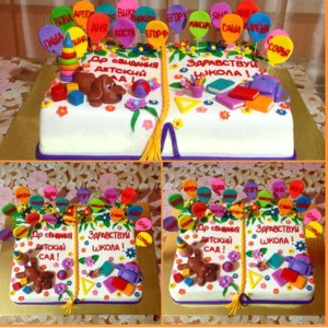 торт до свидания детский сад