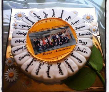 торт на выпускной фотография