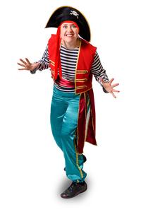 пиратка на детский праздник
