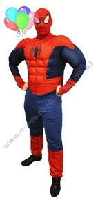 человек паук красный