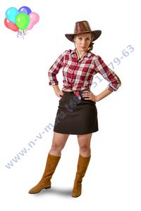 ковбойша на детский праздник