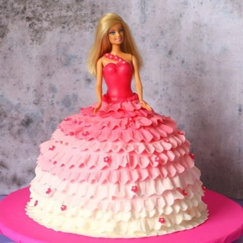 Торт барби своими руками рецепт с