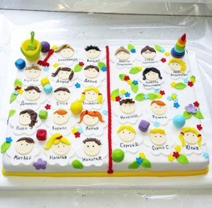 детский торт на выпускной