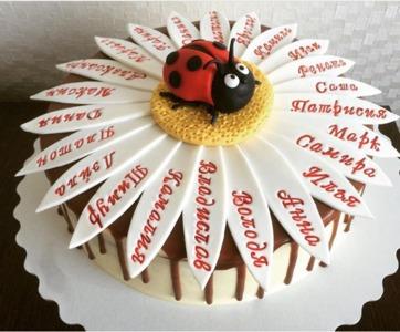 торт на выпускной начальная школа