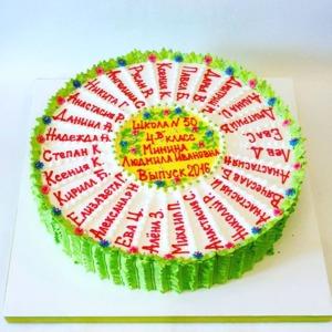 торт на выпускной в детский спд